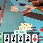 FLOPPING QUADS VS A STRAIGHT FLUSH DRAW // Texas Holdem Poker Vlog 13