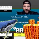 Conquering Tachi Palace And Hands From Vegas!! [No Limit Hold Em Strategy]