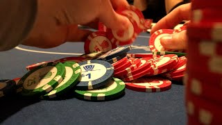 Why You Can't Fold a Set For This Price! Poker Vlog Clip.