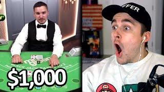 Ludwig Bets it BIG on Blackjack