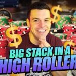 BIG STACK IN $525 HIGH ROLLER – $7,600 UP TOP!