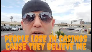 Christopher Mitchell Baccarat Scammer's 5 tips why people lose in casinos
