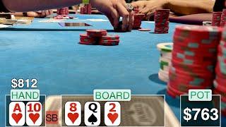 ACTIVATE BEAST MODE!! // Texas Holdem Poker Vlog 25