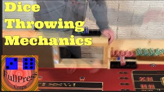 Craps Dice Throwing Techniques- part 2 the Toss