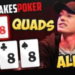 Will DWAN get STACKED by QUADS on High Stakes Poker?