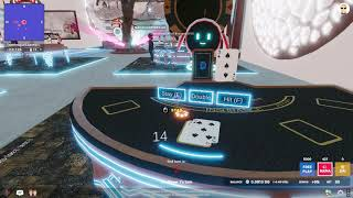 Betting MANA cryptocurrency on Blackjack in Decentraland!