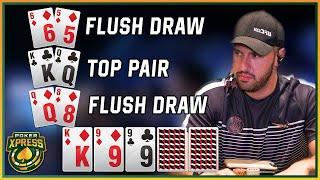 Poker Action BONANZA: 5 EXCITING poker flops!