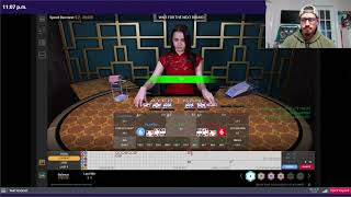 Baccarat Winning Strategy – $10 to $1000 Flat Betting – Live Session #4