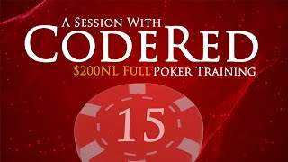 CodeRed Sessions: $1/$2 No Limit Hold'em Live Play Strategy