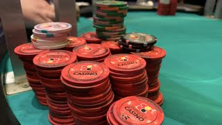 ALL IN FOUR TIMES! (2/5NLH) – Poker Vlog #10