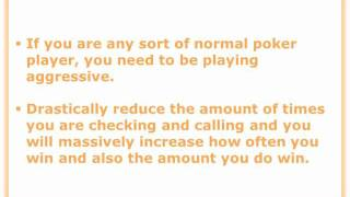 Texas Hold Em Poker Tips – 2 Tips To Increase Your Winnings