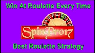 Win At Roulette Every Time with this (Best Roulette Strategy) ⭐