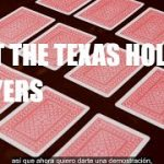 Why You Don't Need A Texas Holdem Poker Strategy