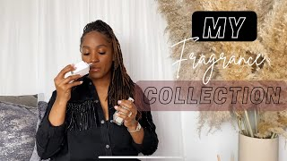 MY FRAGRANCE COLLECTION | 2021 MOST COMPLIMENTED, AFFORDABLE AND LUXURY PERFUMES | THE MOM COMPANY