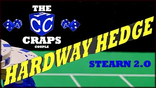Don't Pass Stearn 2.0 with a Hardway Hedge Craps Betting Strategy