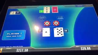 🟡 A Lucky Day! Thank you🔶Electronic Blackjack 21, Resorts World Casino New York City