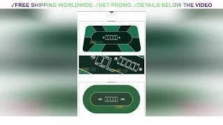 ✅ DEAL 1.8 x 0.9m Texas Holdem Baccarat Poker Thickening Mat Various Pattern Rubber Gaming Pad Casi