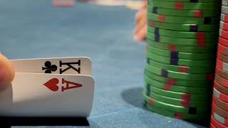 BIG TROUBLE IN THE $2/5 GAME! // Poker Vlog 26