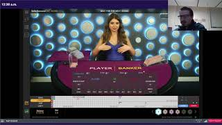 Baccarat Winning Strategy – $10 to $1000 Flat Betting – Live Session #7
