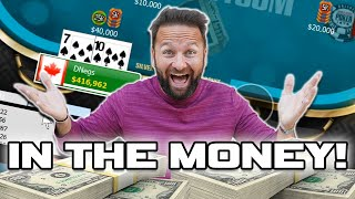 LATE STAGE STRATEGY In the Money! 6-Max Online Poker Tournament