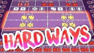 How to PLAY & WIN BIG on The Hard Ways | Craps Basics