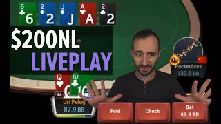 $200 No-Limit Poker – Low-Stakes Liveplay Session