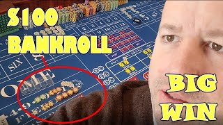 $100 Low-Roller Bankroll All-In Betting Strategy – Pt 1
