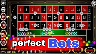 ✨🐾 Good Betting Good Win On Roulette || Roulette Strategy to Win