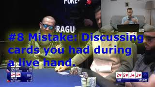 10 things you need to know before playingpokerin acasino. Poker Etiquette For New Players.