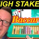 HIGH STAKES BACCARAT STRATEGY THAT WORKS | 100% GUARANTEED