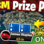 IRISH OPEN MAIN EVENT 1.8M PRIZE POOL | Pokerstaples Stream Highlights