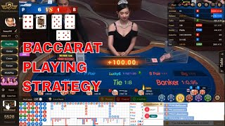 Baccarat Playing Strategy | Dream Gaming Casino | muda88.com