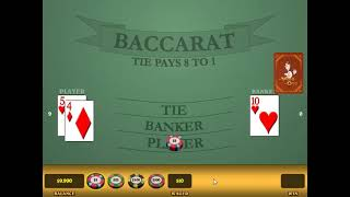 A winning strategy for Baccarat