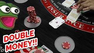 """DOUBLE UP IN 3 HITS – """"Pump & Dump"""" Blackjack System Review"""