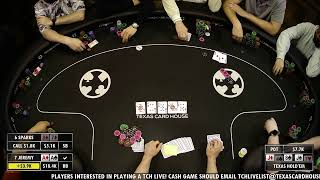 TCH Live – 4/12/2021 – $5/$10 No Limit Hold 'Em Cash Game