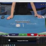 "Baccarat Winning Strategy ""LIVE PLAY "" BIG BET !!! 3/4/21"