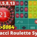 Best Roulette Strategy to Win 2020 | Fibonacci Roulette System Big Win | Roulette Winning 2020