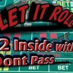 Craps Betting Strategy – $10 dollar don't 22 inside laying the 10