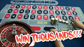 "WIN $2,100 in THREE SPINS!! ""Chamba In & Out"" Roulette System"