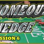 Don't Pass Craps Strategy with a Comeout Hedge Session 6