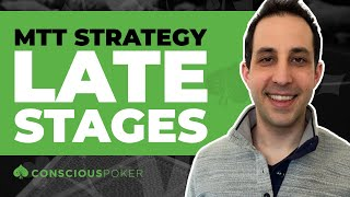 How To Win Online Poker Tournaments   Online Poker Tournaments Strategy   LATE STAGES
