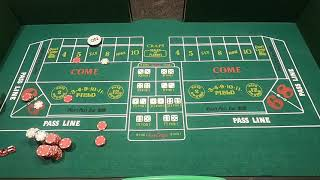 How to Play Craps and Win Part 4: Iron Cross Strategy! Watch as I Legit DOUBLE Money in Just Minutes