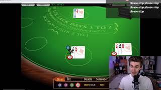 Ludwig teaches stream how to play blackjack – Blackjack [ludwig]
