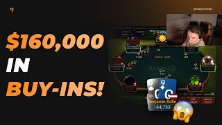 Poker Streamer Spends $160,000 in ONE NIGHT! | Twitch Highlights – Part 1