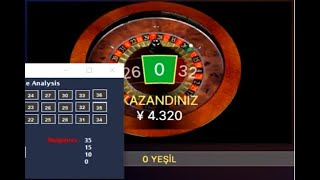 ROULETTE  ANALYSİS SOFTWARE
