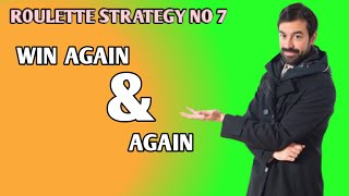 Roulette strategy to win no 7||90% win rate on roulette||Roulette channel