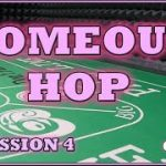 The Comeout HOP #4 Don't Pass Craps Strategy Session 4 Mega Roll