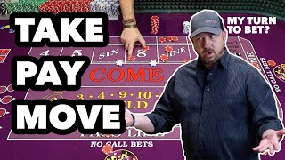 Learn Craps Order of Operation |  Level Up at Dice 03