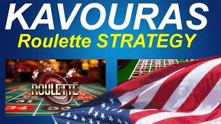 KAVOURAS ROULETTE STRATEGY MODIFIED FOR AMERICAN ROULETTE WHEEL