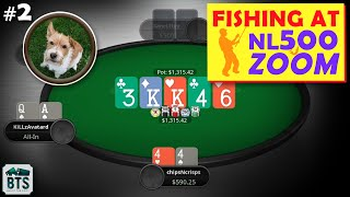 Zoom Poker 500NL CRAZY Plays! – (Strategy Review by MMAsherdog)